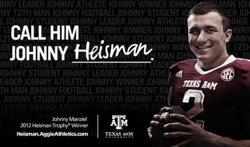 Call Him Johnny Heisman