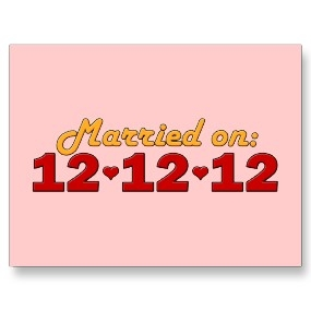 12.12.12 is so popular that these postcards are being sold online...