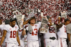 Alabama wins BCS National Championship