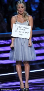 Reverse on Dog Shaming - Her dog was in the audience and she is super cute!