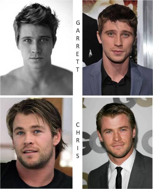 Garrett (top) & Chris (bottom)