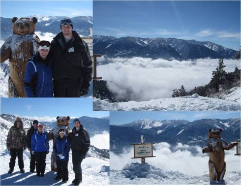 Photo Opportunity at the top of one of the blue/black lifts