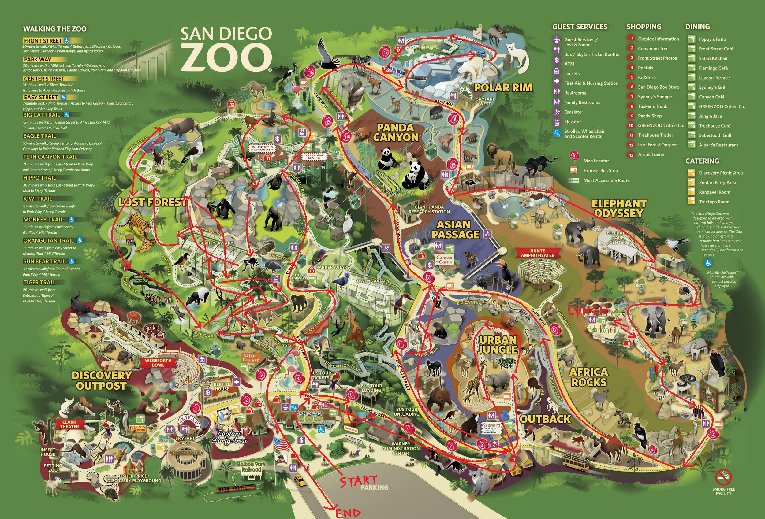 San diego zoo safari park discount coupons