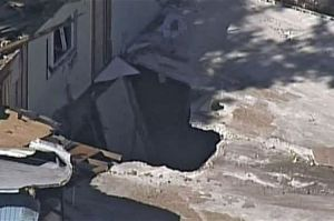 Sinkhole in Florida