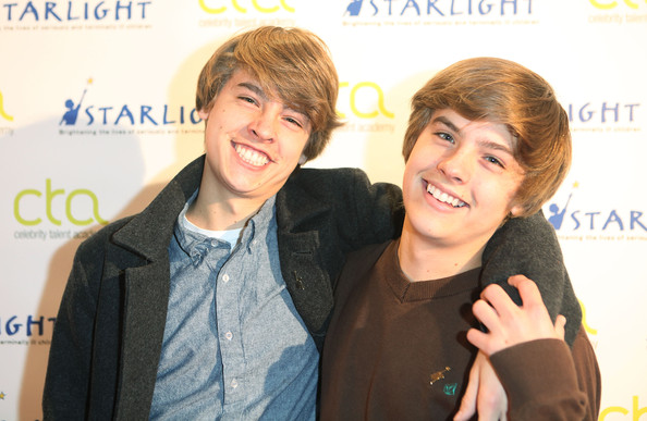 Twins Dylan and Cole Sprouse