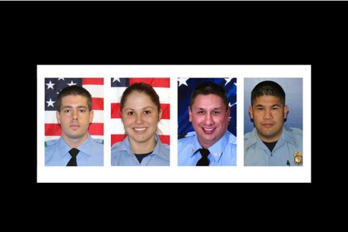 The Four Fallen Fire Fighters
