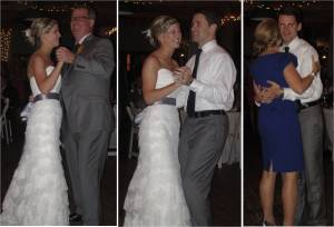 Father-Daughter, First, and Mother-Son Dances