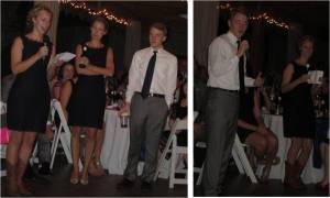 Maid of Honor, Matron of Honor, and Best Man Speeches