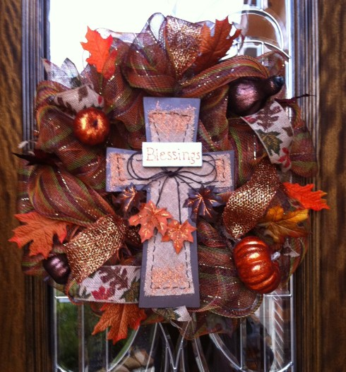My Wreath - Final Product!