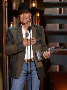 King George - now that is what a country music man looks like!