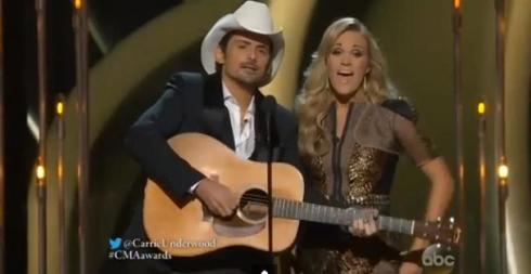 Brad & Carrie CMA Intro