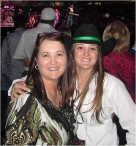 Mom & Me at George Strait
