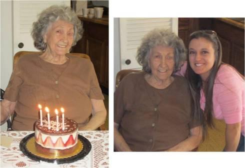 She's still a hoot at 90!