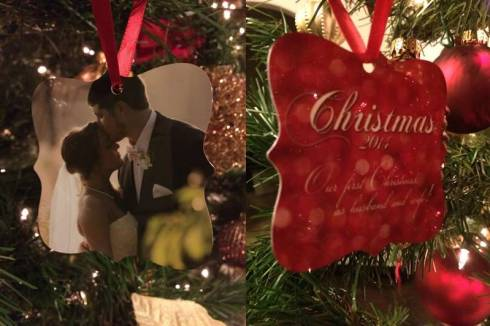 Christmas ornament from Lacy