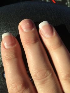 I broke my nail packing away Christmas decorations