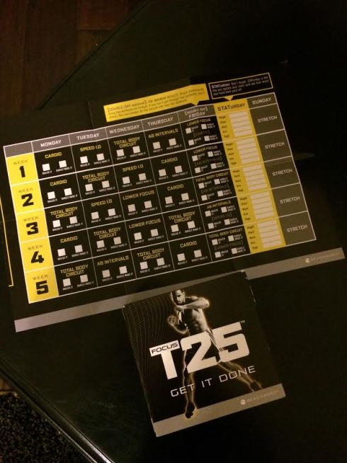 Let's try this T25 thing again....