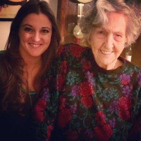 My beautiful Grandma at 91 years young!