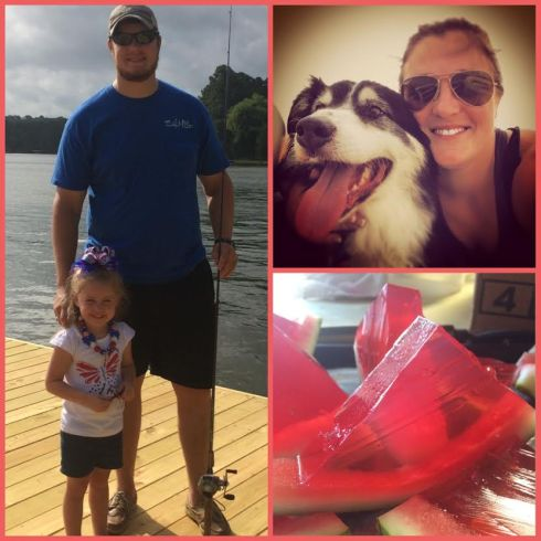 Fun times of fishing, riding the boat and jet skis, and eating watermelon jello shots